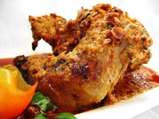 Ayam Sampyok Lezat